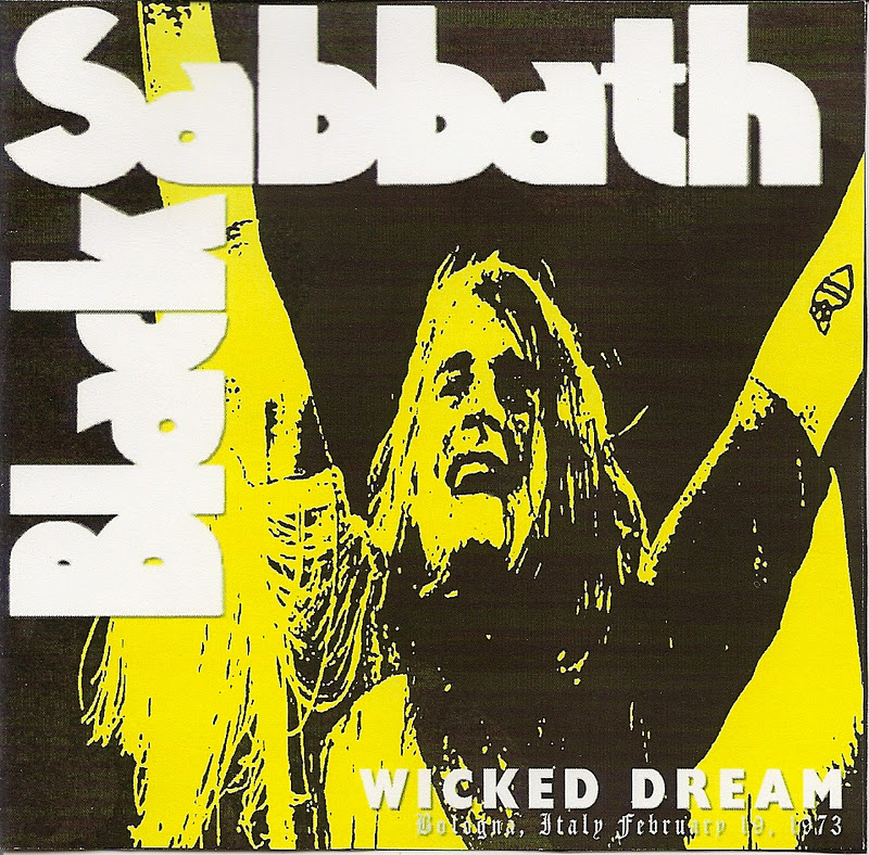 MUSIC ART VCL: Black Sabbath - Wicked Dream, Live In Bologna ...