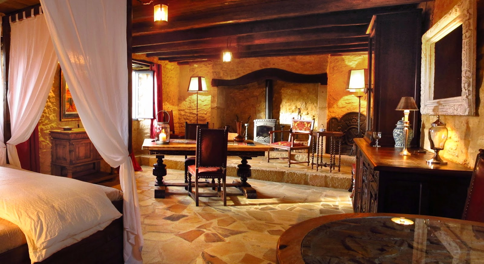 Bed and Breakfast Dordogne suite