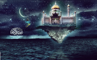 Beautiful abstract ramadan kareem wallpaper