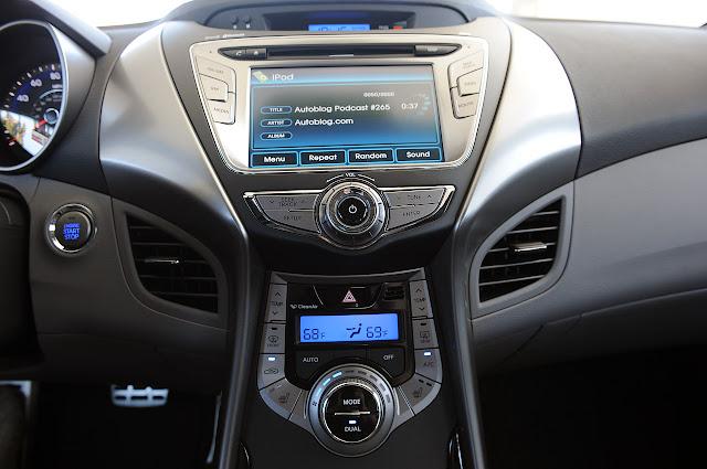 ауди система Hyundai Elantra Coupe 2013