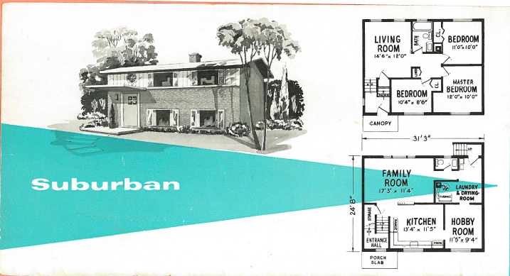 1970s Bi Level Houses Floor Plans Modern Home Design And