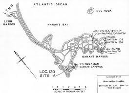 Map of Nahant Peninsula