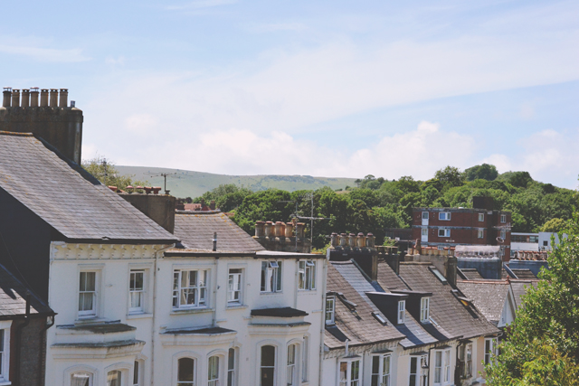 View of Sussex hillside