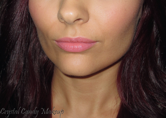 Rouge à lèvres (Lipstick) Flamingo de MAC (Collection All About Orange) - Review - Swatch on lips