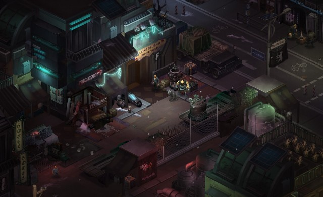 Shadowrun Dragonfall PC Games Gameplay