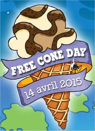 logo du Free Cone Day - crédit Ben & Jerry's