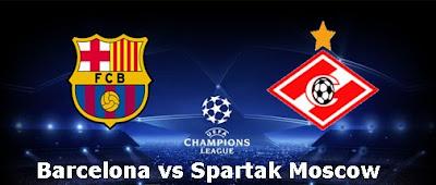Barcelona vs Spartak Moscow