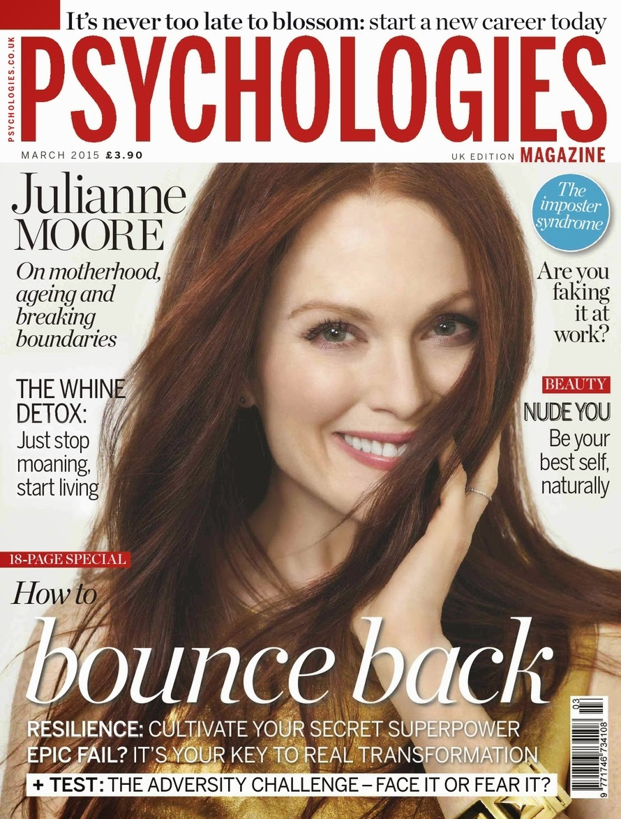 Actress, Children's Author: Julianne Moore for Psychologies UK