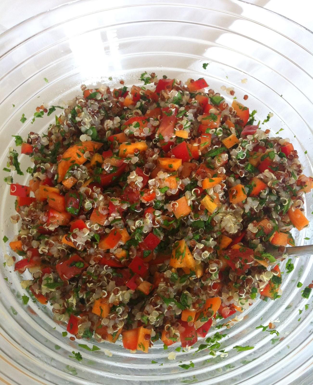 Cuisiner bien quinoa salat for Cuisiner quinoa