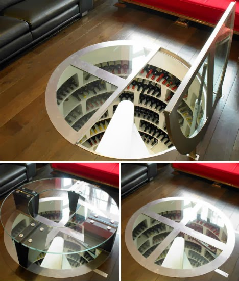 Exquisite design for a spiral staircase goodiy for Wine cellar in floor