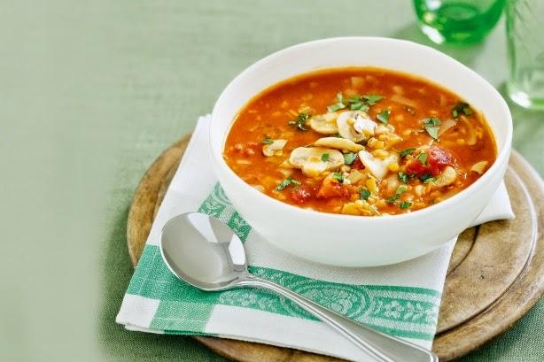 zuppa d'orzo e lenticchie