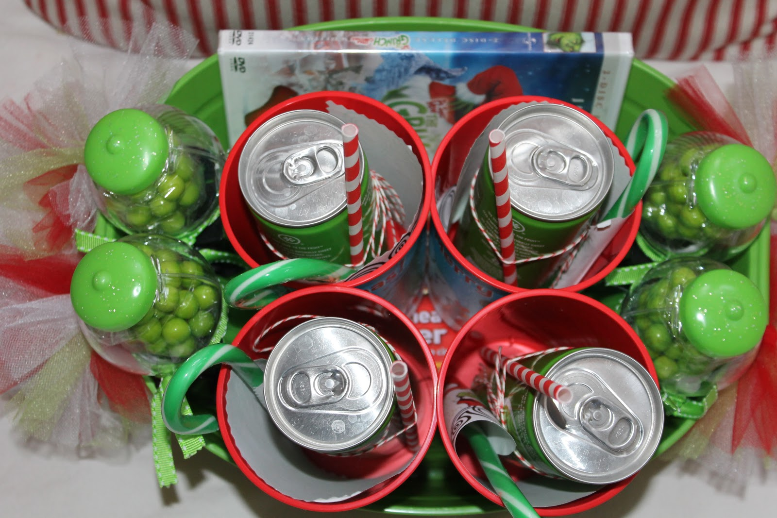 Christmas Movie Night Gift Basket