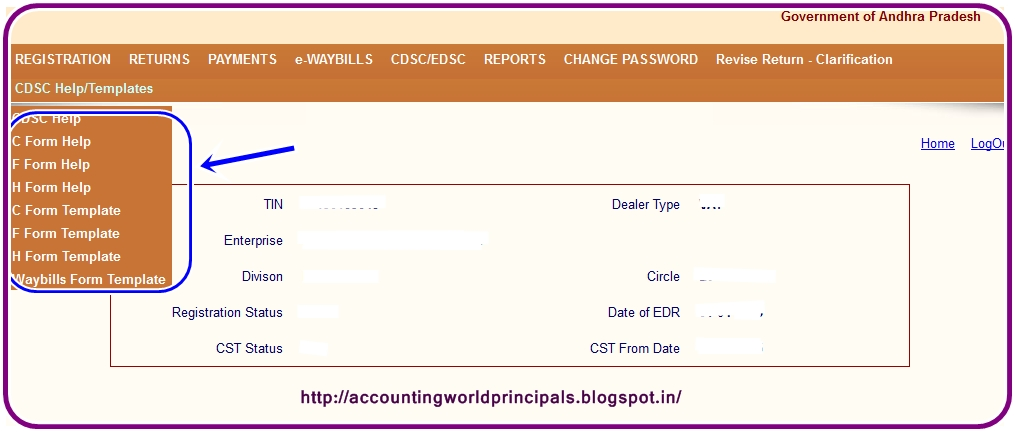 download ap vatcst waybills chf forms help files and template
