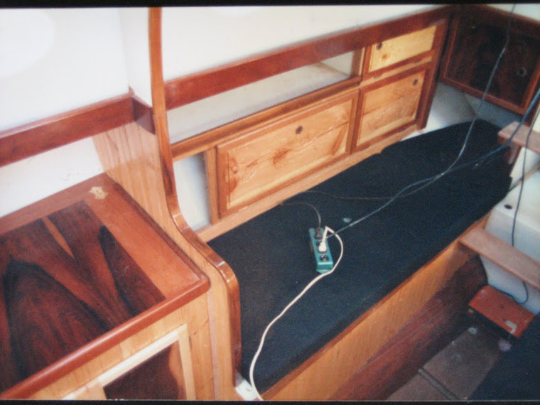 Build complete interior on cruising cutter