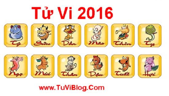 Tu Vi 2016 Tuoi