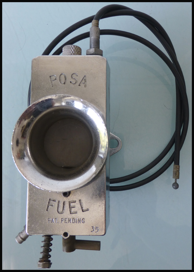 Posa Fuel Carburetor | Posa Racing Carburetor | Posa Carburetor