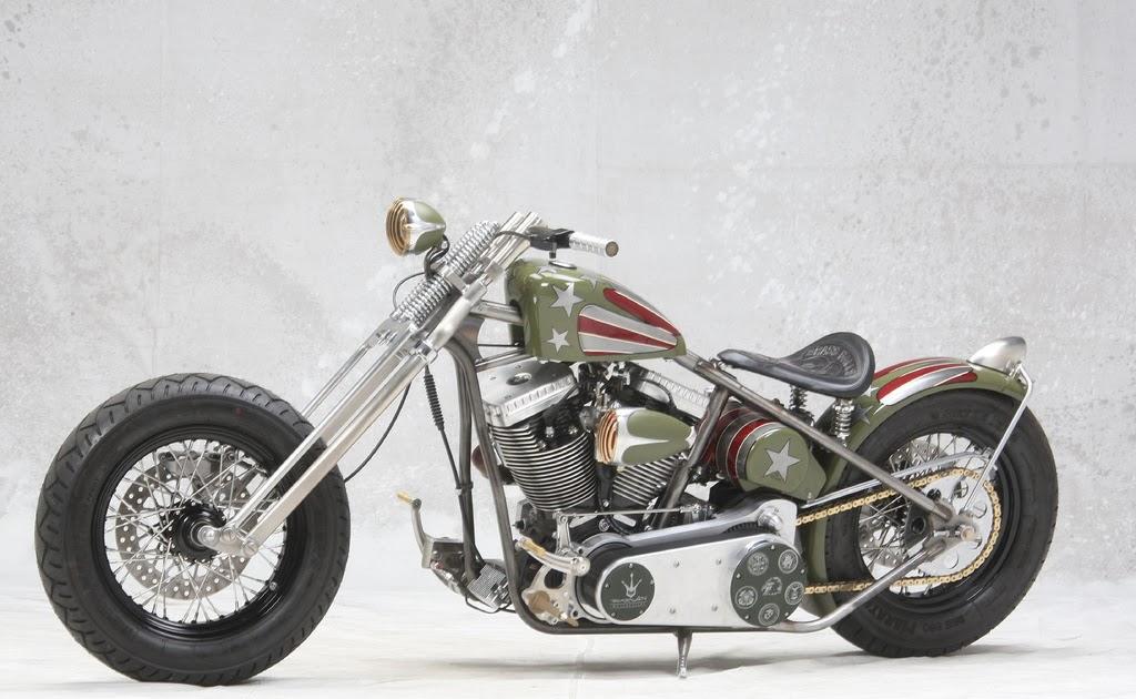 Moto custom bobber militare brass balls bobbers for Moto usate in regalo