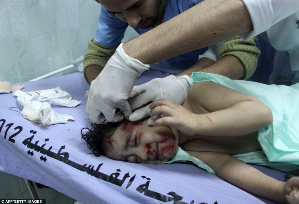 Gambar Kekajaman Rejim Israel