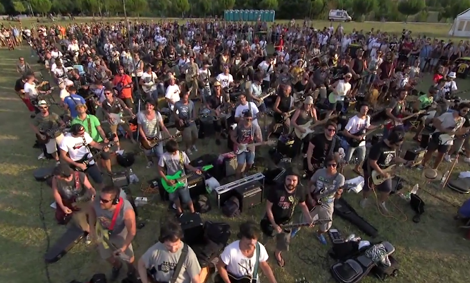 Watch 1,000 Musicians Cover Foo Fighters For Epic Hometown Concert Plea