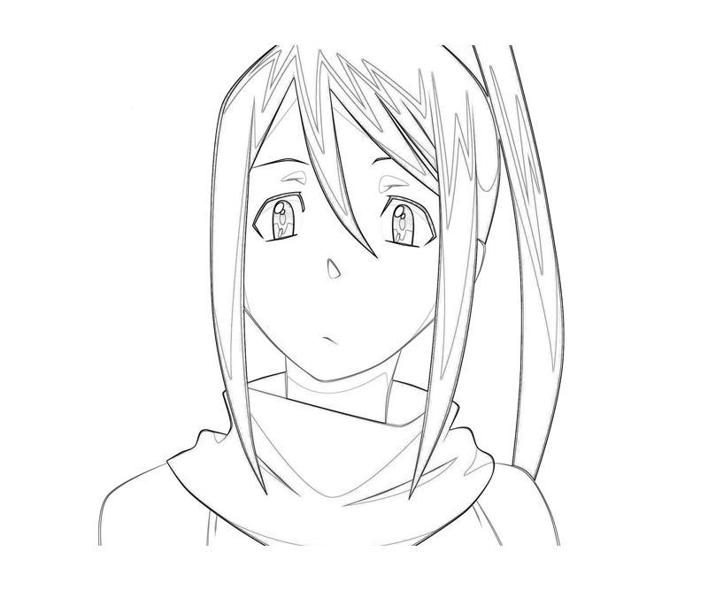 soul-eater-tsubaki-nakatsukasa-face-coloring-pages