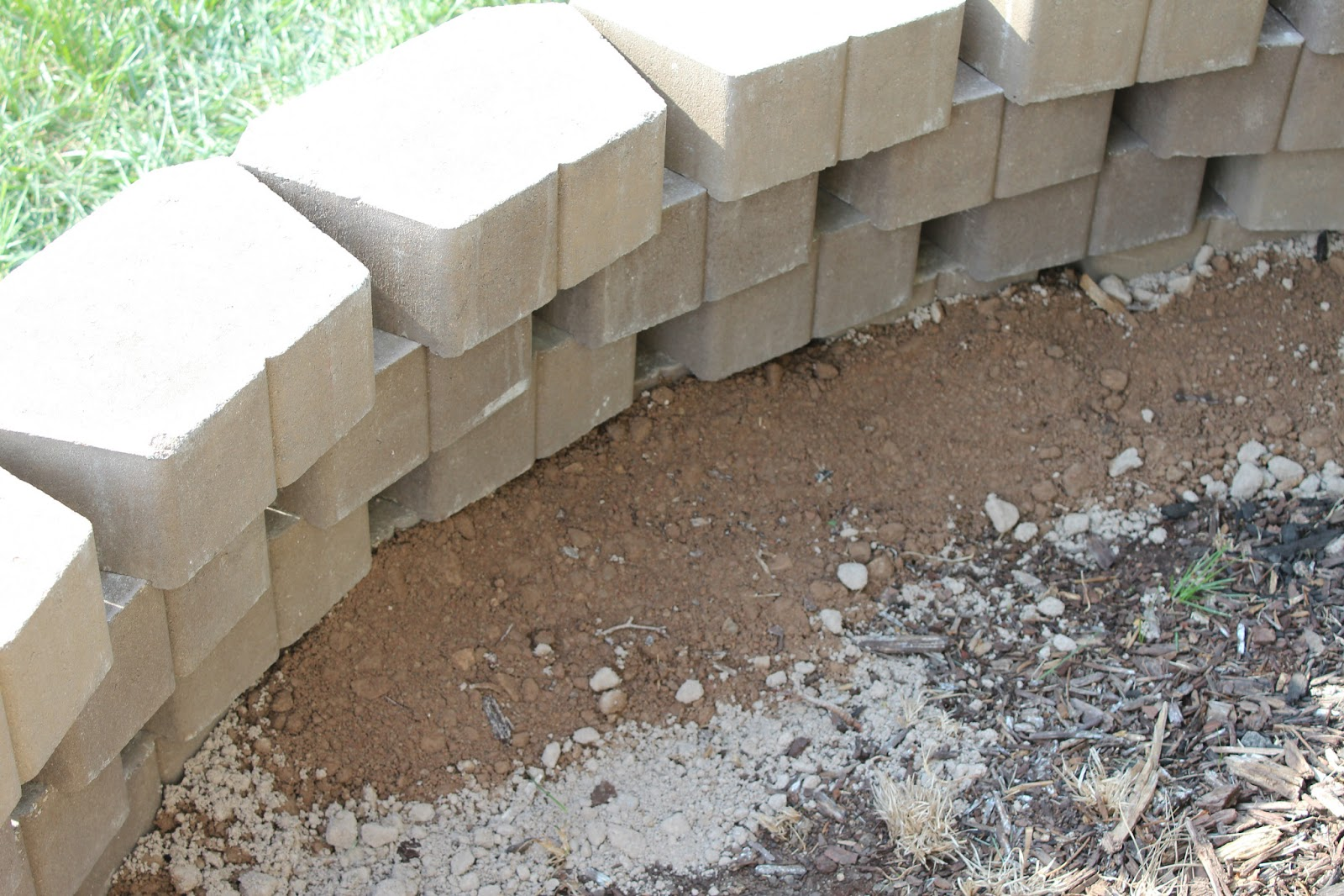 Retaining Wall Block Caps Home Depot : Can you brick veneer retaining wall block home depot lowes cost house remodeling
