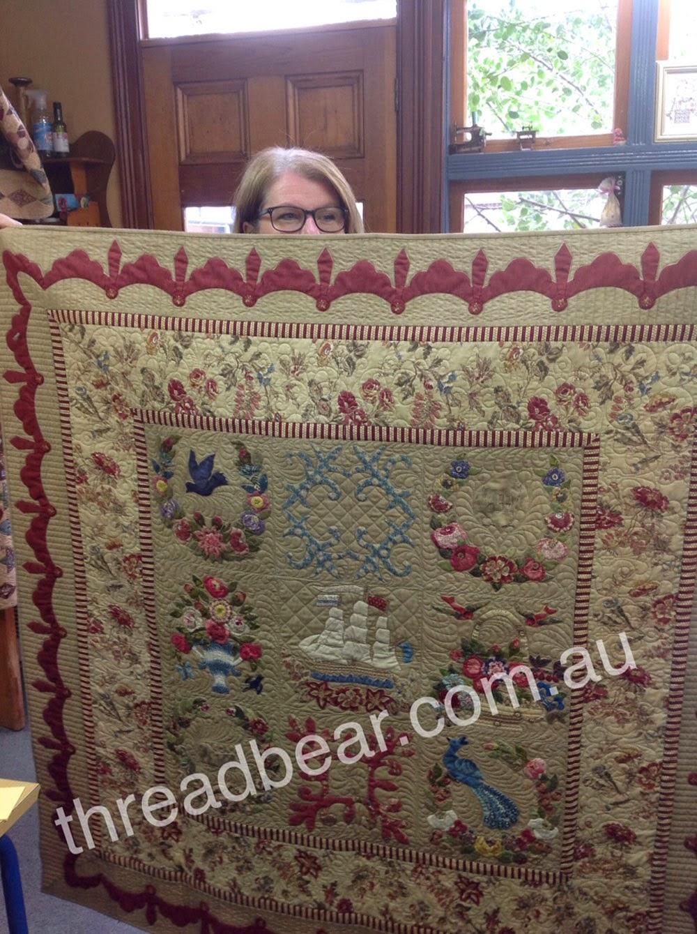 Threadbear: September 2014 : threadbear quilts - Adamdwight.com
