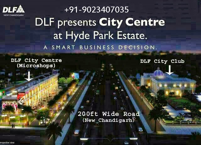 DLF HYDE-PARK Mullanpur New-Chandigarh Booths Microshops