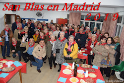 SAN BLAS EN MADRID 2019