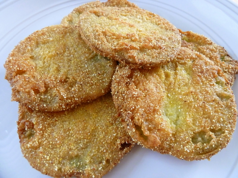 Fried Green Tomatoes Recipe — Dishmaps