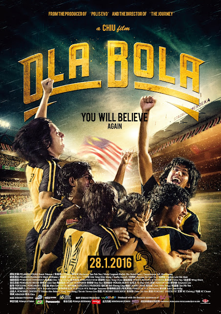"""OlaBola - Premiere on 28 January 2016 """"You Will Believe Again"""""""