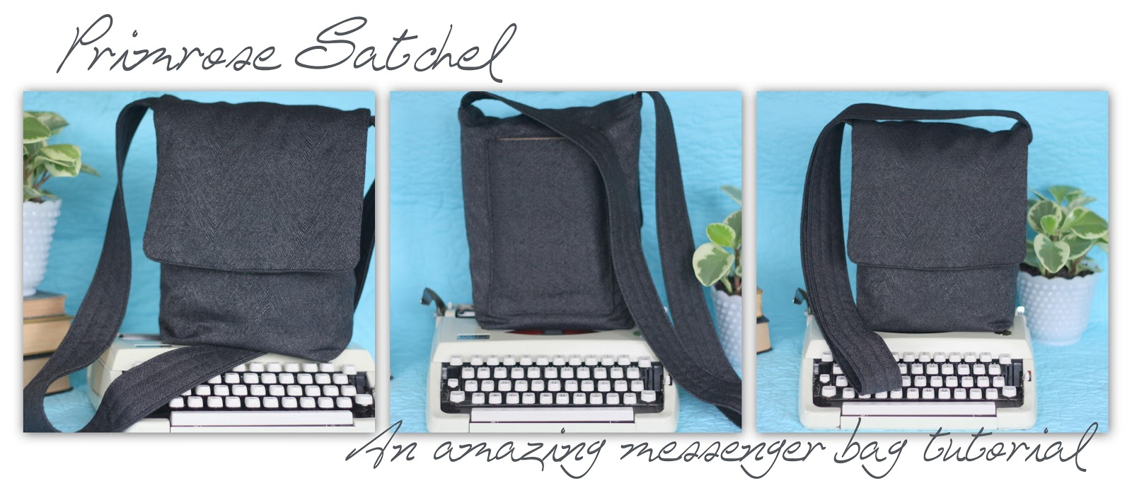 Click to download free PDF for the Primrose Satchel Messenger Bag Tutorial.