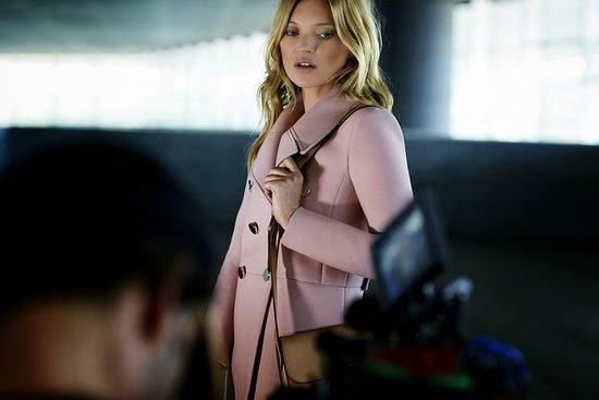 Kate Moss stars for the Gucci Jackie Bag Video Campaign 2014