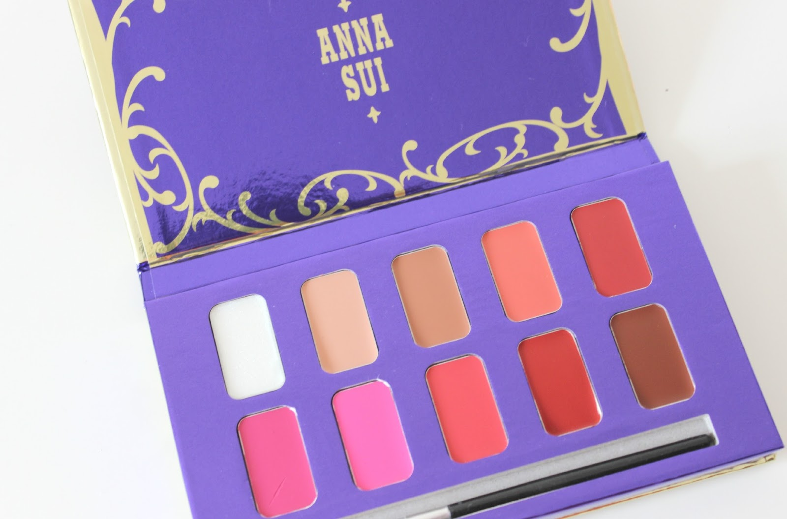 A picture of Anna Sui Lip Color Palette