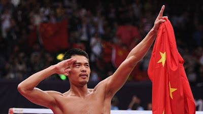 Lin Dan Juara Badminton Olimpik London