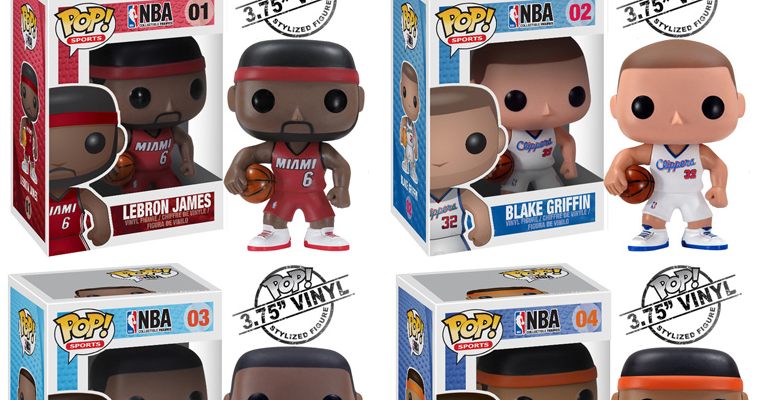 The Blot Says Nba Pop Sports Series 1 Vinyl Figures