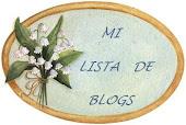 MI LISTA DE BLOGS