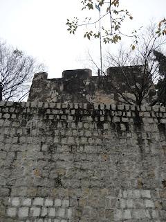 Murallas de la fortaleza del monte de Macao.