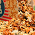 Popcorn Cheesy Spicy Dengan Daging Asap