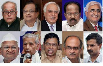 JAN LOKPAL BILL & ANNA HAZARE: 153 - Anna Hazare, others declare ...