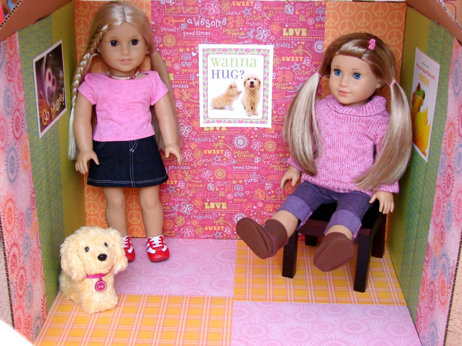 Doll craft make a clubhouse for your dolls