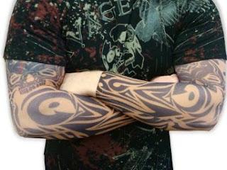 Tattoo Sleeves - Vodoo Spider Pair of Tattoo Sleeves
