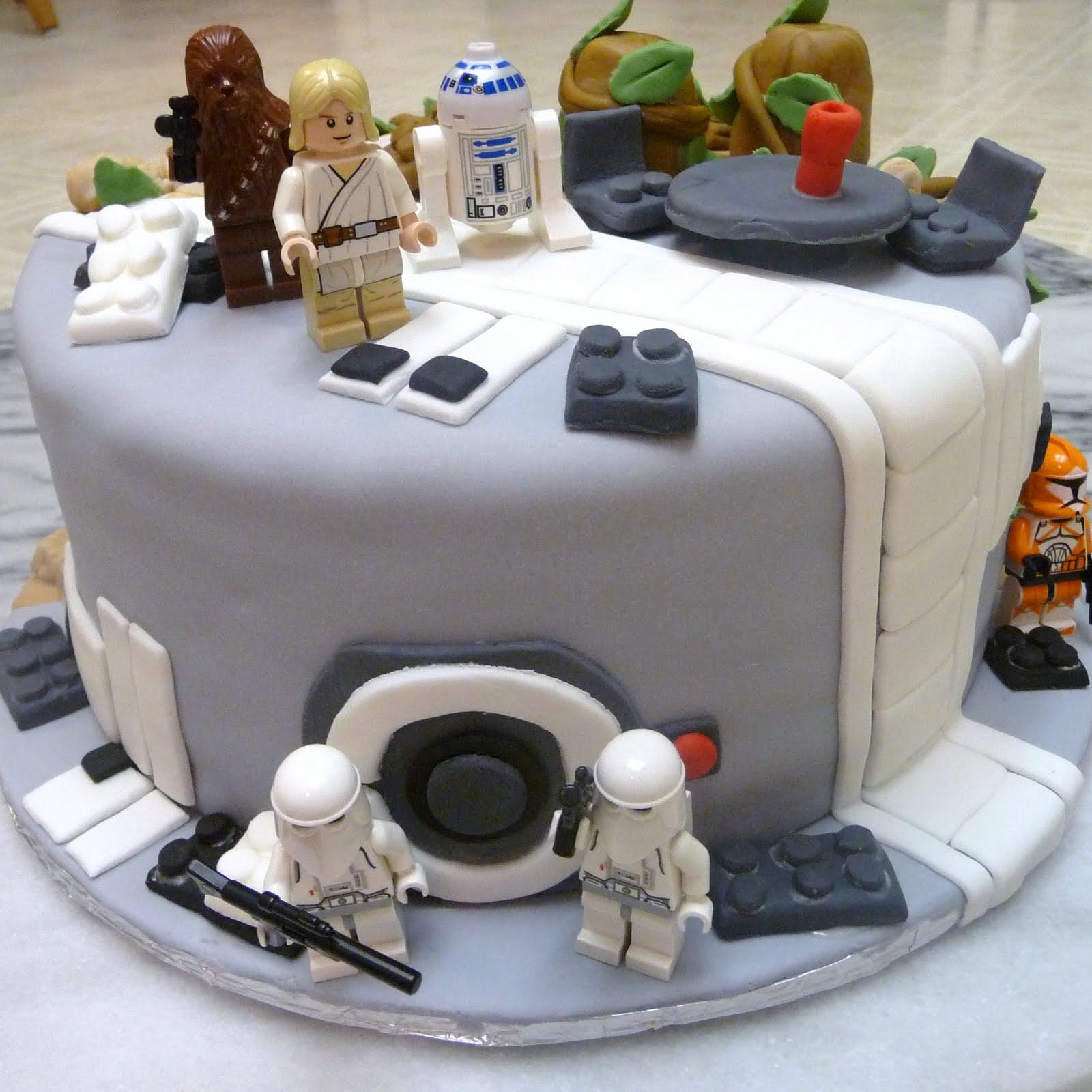 Lego Indiana Jones Birthday Cake