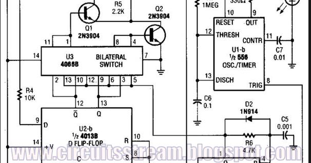 Digital Pulser Circuit Diagram