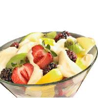 Receta de copa de frutas