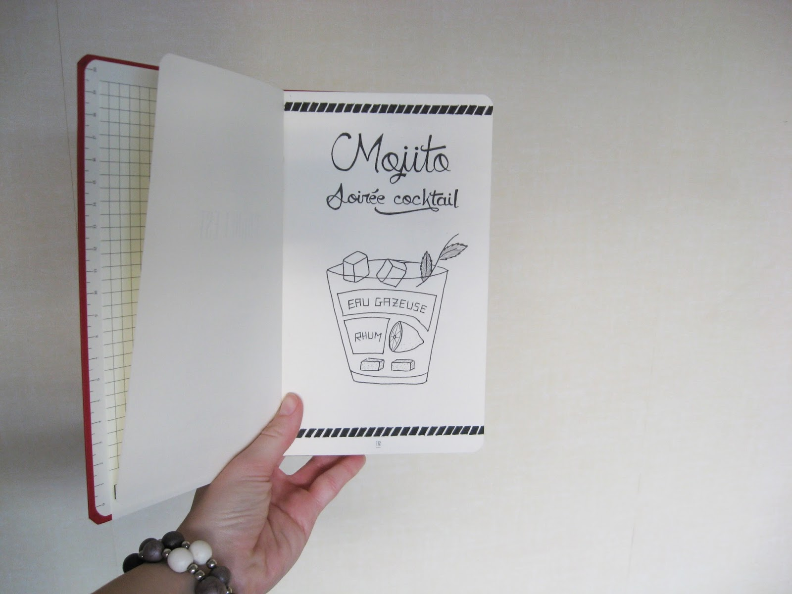 carnet papier résistance draw cocktail
