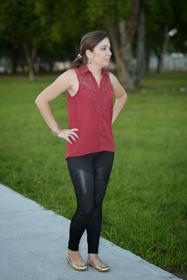 Look legging e Camiseta