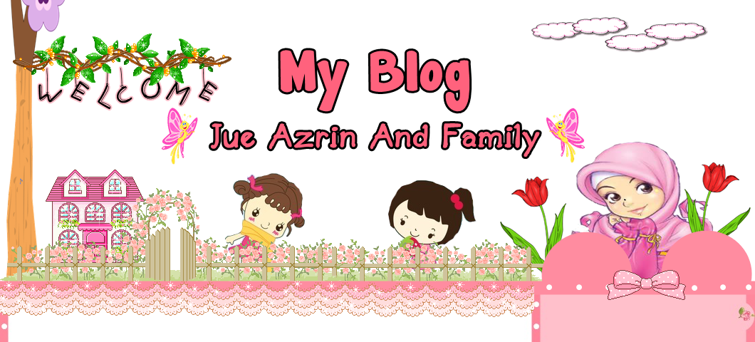 Jue Azrin And Family