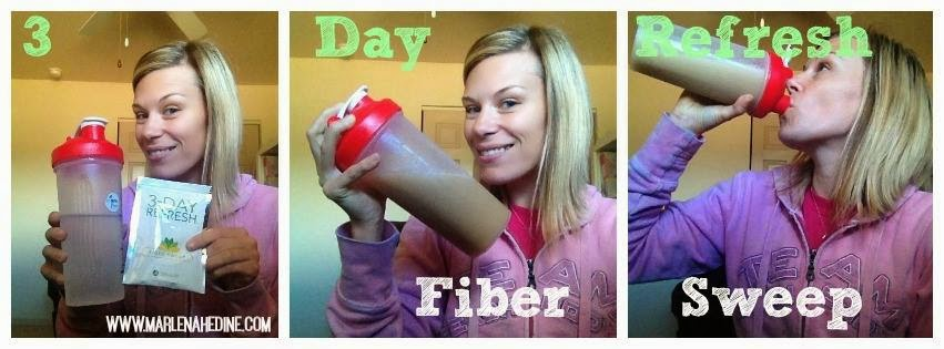 3 day Refresh, plan, Fiber Sweep, Bikini Slim Down