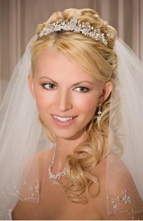 peinados de novia con velo parte - Peinados De Novia Con Velo