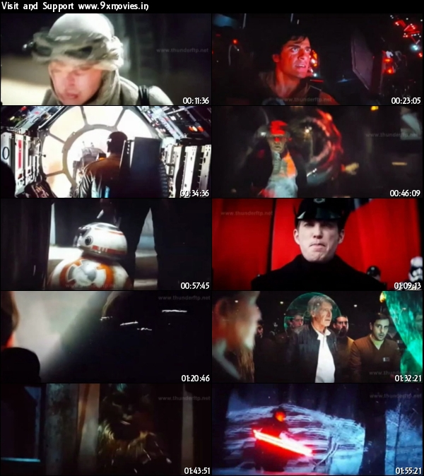 Star Wars The Force Awakens 2015 English HDCAM x264